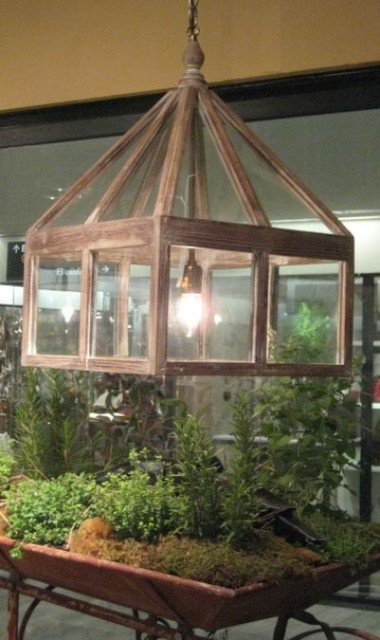 Conservatory Light Fixture Eclectic Chandeliers By