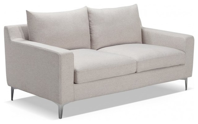 Sloan Modern Fabric Sofa 67 2 Seater Contemporary Loveseats Chicago By Interior Define