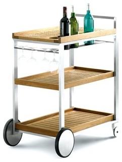 bibi cart bauhaus look outdoor servierwagen von. Black Bedroom Furniture Sets. Home Design Ideas