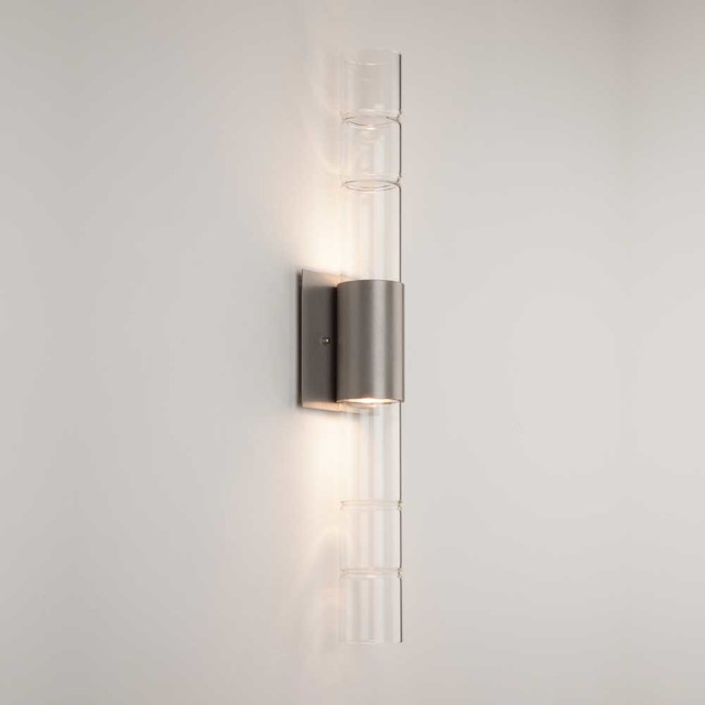 Wall Sconces Down Lighting : Bamboo Up / Down Light Wall Sconce - Modern - Wall Sconces