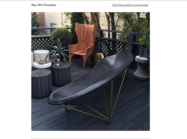 San Francisco Decorator Showcase Modern Garden Furniture San Francisco