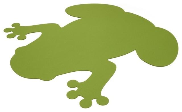 Teppich Frosch  Eklektisch  Kinderteppiche  von