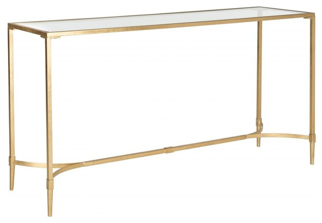 Antwan console arts crafts console tables for Arts and crafts sofa table