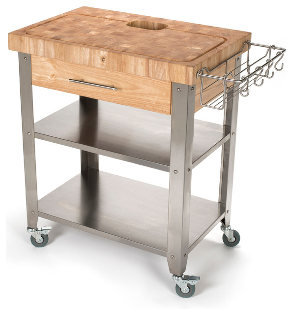 Stadium Series Kitchen Work Station End Grain Top