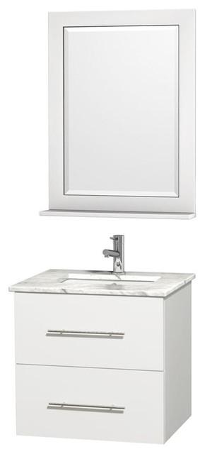 Bathroom Vanities With Square Sinks : 24 in. Vanity with Square Sink contemporary-bathroom-vanities-and-sink ...