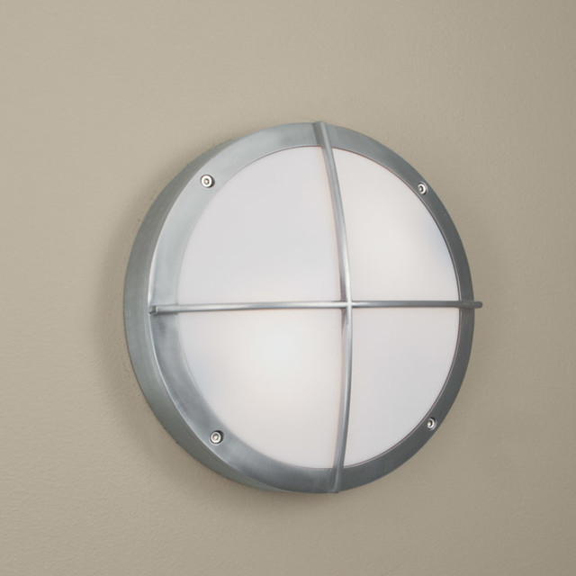 Port Outdoor Wall Sconce Flush Mount Modern Flush