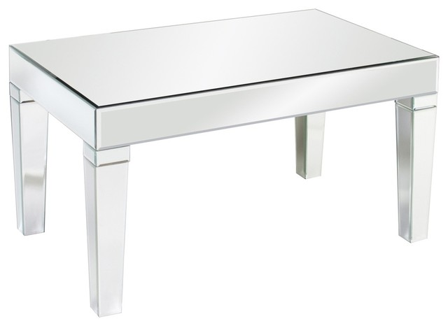 Leo Mirrored Coffee Table Contemporary Coffee Tables By Bludot