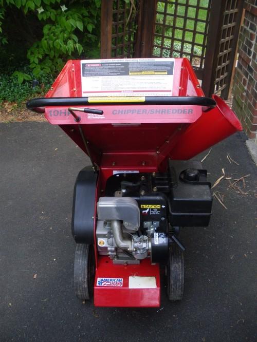 troy bilt 10 hp chipper shredder manual