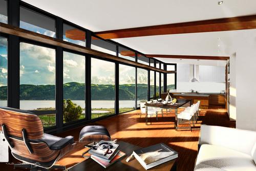 Window interior color black or white Home decorators aberdeen
