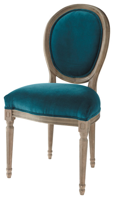 Stunning Chaise Salle A Manger Bleu Canard Pictures - ansomone.us ...