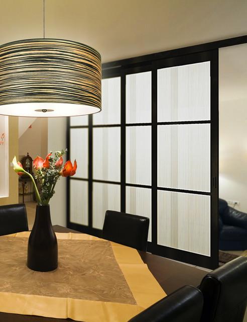 Contemporary sliding doors for Sliding wall room divider
