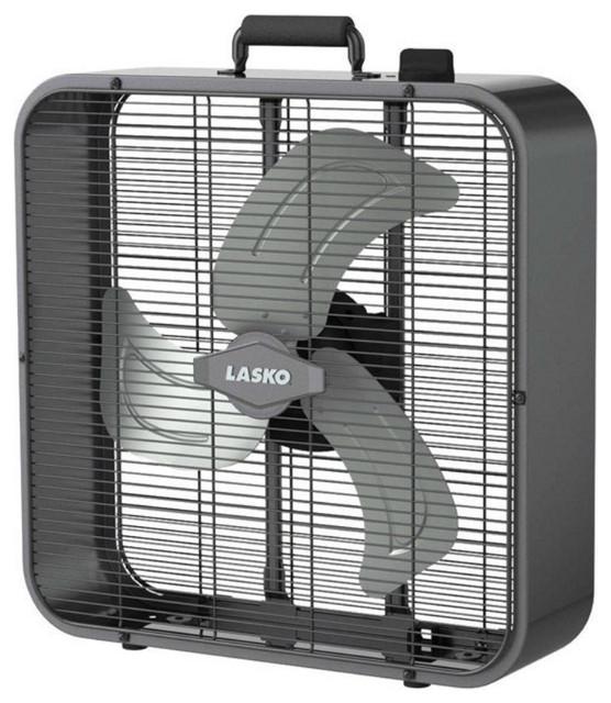 Electric Box Fan : Lasko b metal box fan quot modern electric fans