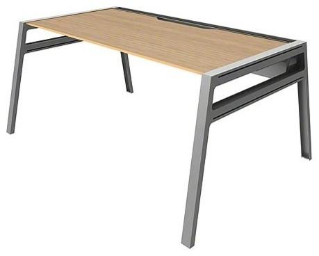 turnstone 48 inch bivi desk modern desks and hutches