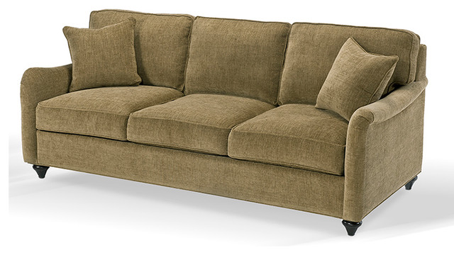 Eclectic Sofa : Michelle Sofa - Eclectic - Sofas - Other - by Designing Solutions