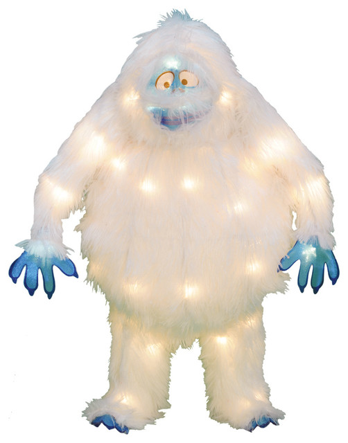 Rudolph Bumble Outdoor Christmas Decorations : Lighted rudolph the red nosed reindeer bumble christmas