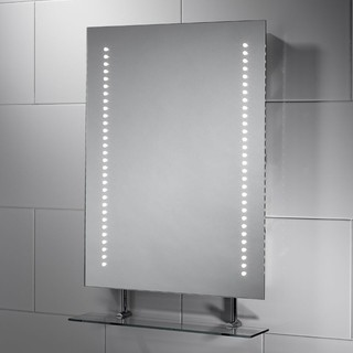 Brooke Led Mirror With Glass Shelf
