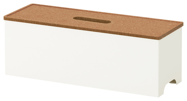 Kvissle Cable Management Box - Modern - Cable Management - by IKEA
