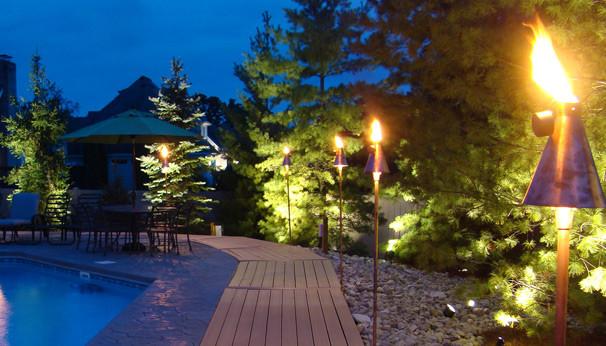 Landscape Lighting Sarasota : Sarasota torch lights outdoor lighting other by
