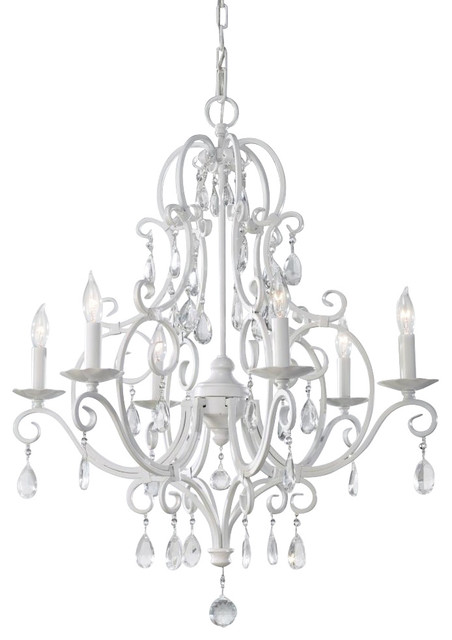 Feiss 6 Light Chateau Chandelier