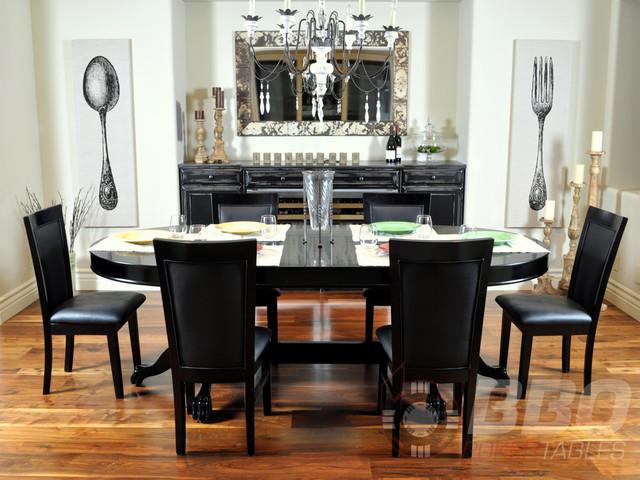 Elite 96 dining poker table for Acme salon san francisco