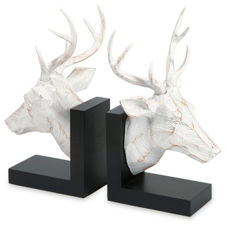 Joseph Deer Bookends, Set of 2