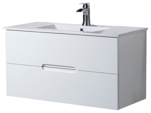 Wall Mount Bathroom Vanity Elton 40