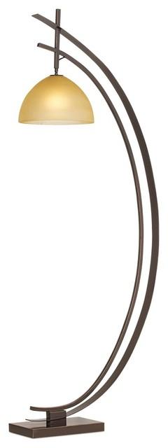 Pacific coast orbit floor lamp bronze contemporary for Contemporary floor lamps gold coast