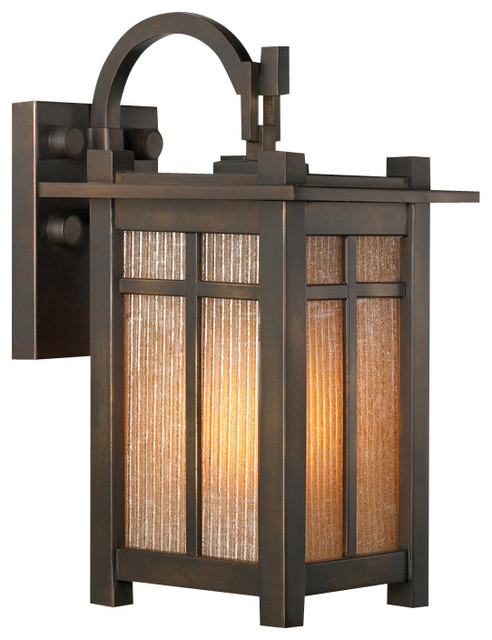 Mission Style Bathroom Wall Sconces : Fine Art Lamps Capistrano Outdoor Wall Mount, 402181ST - Craftsman - Outdoor Wall Lights And ...