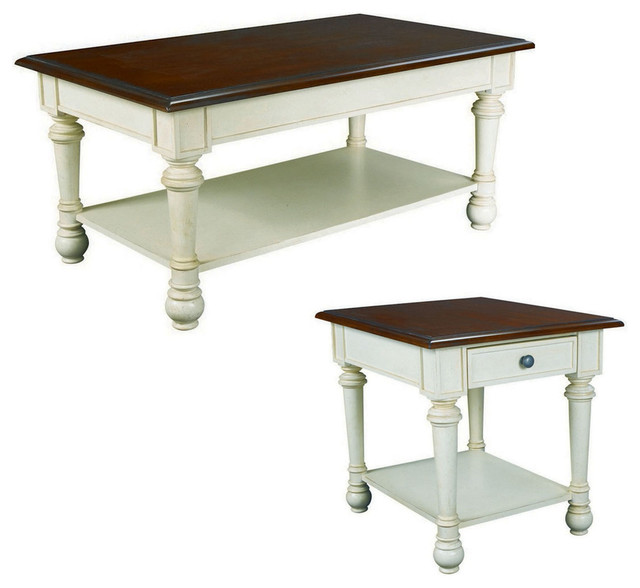 Hammary Promenade Rectangular Cocktail Table Set Contemporary Coffee Tables By Beyond Stores