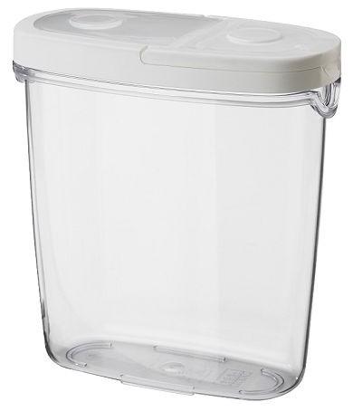 ikea 365 jar with lid skandinavisch m slispender. Black Bedroom Furniture Sets. Home Design Ideas