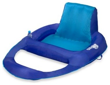 Swimways spring float pool recliner xl contemporary for Pool floats design raises questions