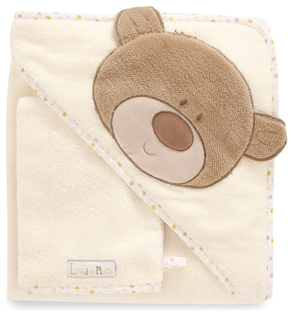 loved so much cuddle 39 n 39 dry and wash mitt modern kids towels b. Black Bedroom Furniture Sets. Home Design Ideas
