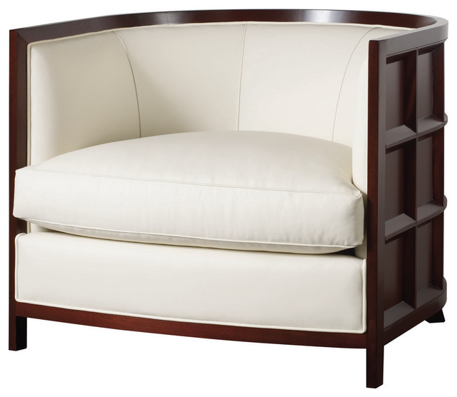 Baker Thomas Pheasant Coffee Table: Bevel Lounge Chair