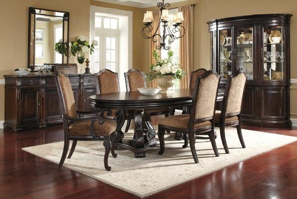 ART Furniture LeGrand Oval Dining Room Set ART 203221 1715TP BS ROOM Tr