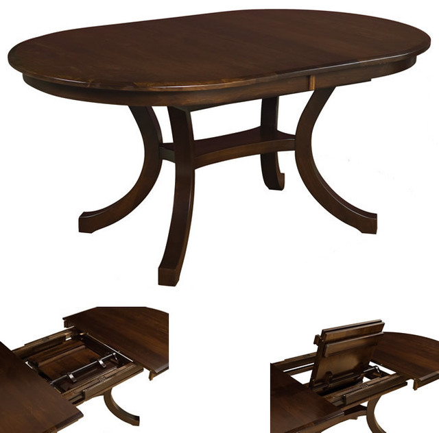 Bedford table traditional dining tables detroit by