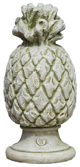 10 williamsburg pineapple finial contemporary outdoor for Pineapple outdoor decor