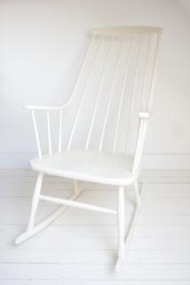 wei er vintage schaukelstuhl bauhaus look sessel von. Black Bedroom Furniture Sets. Home Design Ideas