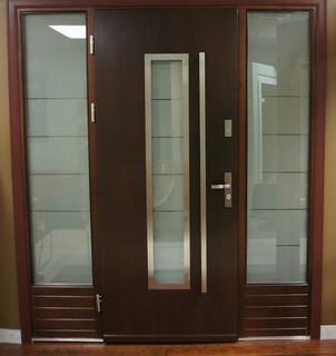 Modern exterior door model 064 contemporary front for New model front door