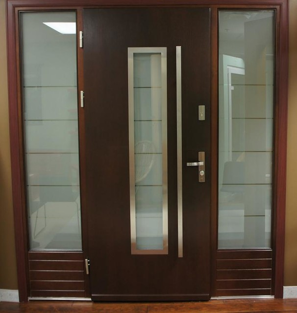 Modern exterior door model 064 contemporary front doors new york by modern home luxury - Modern home luxury doors ...