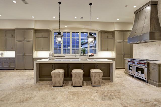Kitchen Custom Zinc Hood