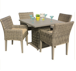 royal square dining table with 4 chairs 2 for 1 cover set