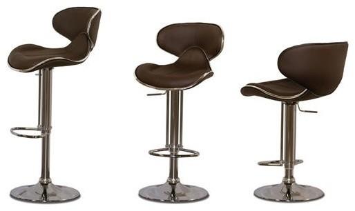 972 Texture Bar Stool Contemporary Bar Stools And
