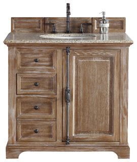providence driftwood single vanity cabinet only no top