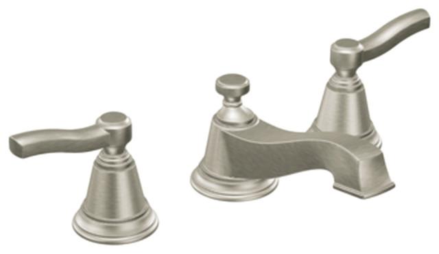 Moen T6205BN Brushed Nickel Bath Sink Faucet Trim 2 Handle 8 16