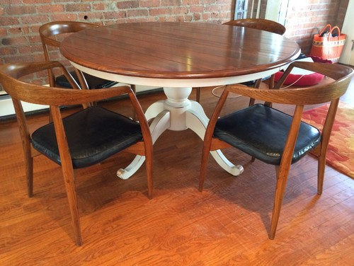 How Can I Raise The Seat Height Of My Mid Century Dining