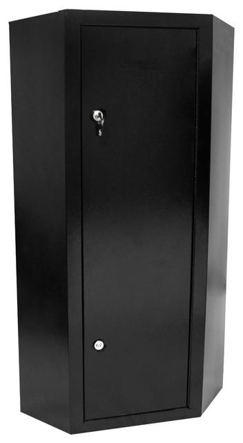 10 Gun Steel Corner Cabinet - Contemporary - Storage And Organization - portland - by Pro Home ...