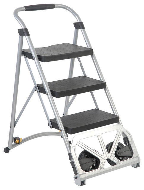 Master Grade Folding Master 2 In 1 Heavy Duty Step Ladder