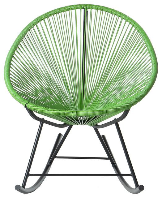 Polivaz Mayan Hammock Acapulco Rocking Chair Green