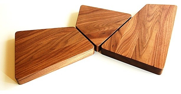 Skewed Serving Boards Modern Chopping Boards Other