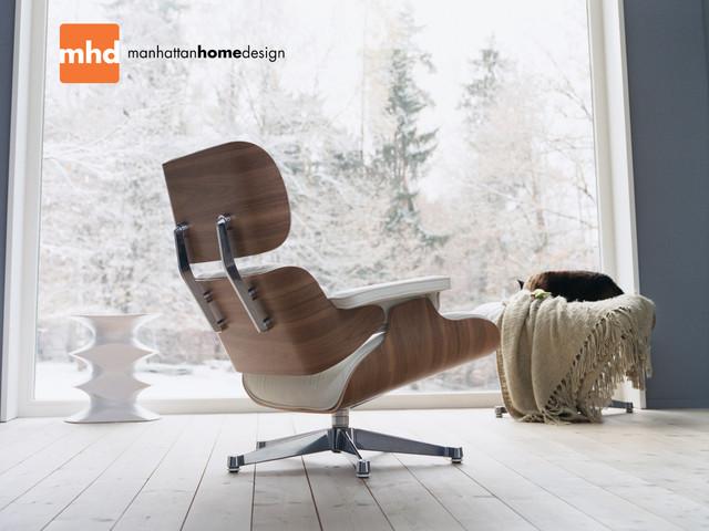 classic lounge chair ottoman modern bedroom